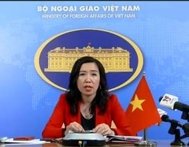 Việt Nam lên tiếng về 2 vụ xâm phạm chủ quyền tại Trường Sa