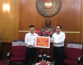 Showroom Nội thất Hùng Túy 20 Cát Linh Hà Nội ủng hộ 1,5 tỷ đồng phòng chống dịch Covid-19