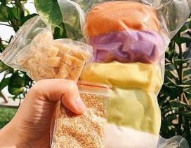 Rảnh rỗi mùa dịch, các mẹ đua nhau mua bột ngũ sắc về dạy con tự làm bánh