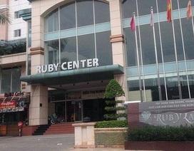 Cưỡng chế vi phạm xây dựng ở chung cư Rubyland