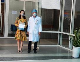 """""""Phần thưởng lớn nhất của bác sĩ là bệnh nhân mắc Covid-19 được xuất viện"""""""