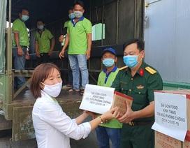 Sài Gòn Food tiếp sức 20.000 gói cháo cho cán bộ y tế tuyến đầu chống dịch covid-19