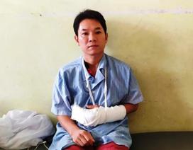 Trưởng công an xã bị trọng thương vì dao của kẻ nghiện