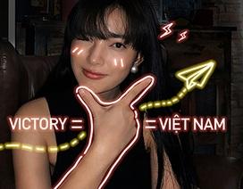 """Bạn trẻ truyền thông điệp """"Việt Nam chiến thắng"""" trong Giờ Trái đất khác lạ"""