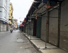 Các khu chợ sinh viên ở Hà Nội đồng loạt đóng cửa phòng dịch Covid-19