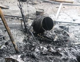 Hiện trường vụ cháy khiến 2 ông cháu tử vong