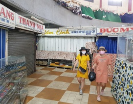 Hàng chục tiểu thương chợ Đầm Nha Trang đóng cửa, nghỉ bán vì Covid-19