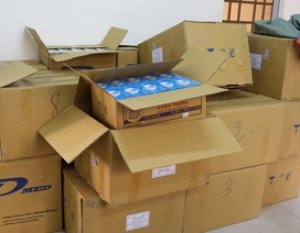 Tây Ninh: Bắt giữ 2 vụ vận chuyển trái phép khẩu trang y tế qua Campuchia