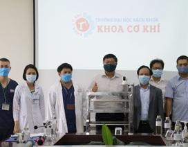 ĐH Đà Nẵng thưởng nóng sáng chế robot phục vụ khu cách ly