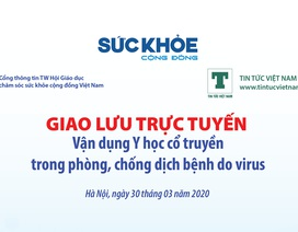 Tư vấn trực tuyến cách chống virus Covid–19 bằng y học cổ truyền