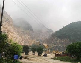 Sập mỏ đá khai thác chế biến khoáng sản, 2 người tử vong