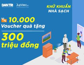 Minigame: Quà tặng 10.000 voucher dịch vụ phun khử khuẩn – Chuẩn nhà sạch