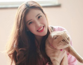 Em gái xinh đẹp, cao gần 1m80 của Hoa hậu Mai Phương Thúy