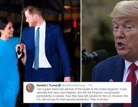 Vợ chồng Harry thẳng thừng đáp trả Tổng thống Trump chuyện phí an ninh