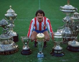 Huyền thoại Atletico Madrid qua đời vì nhiễm Covid-19