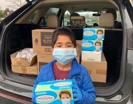 Mỹ: Bé 7 tuổi quyên góp 6.000 món đồ bảo hộ cho bệnh viện chống Covid-19