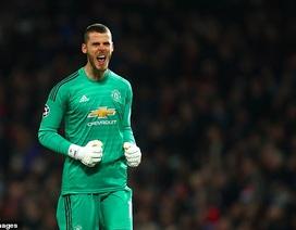 De Gea vượt qua kỷ lục giữ sạch lưới của Van de Sar tại Man Utd