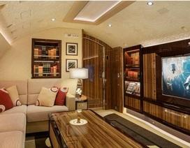 Khám phá nội thất xa xỉ bên trong chiếc máy bay tư nhân lớn nhất thế giới