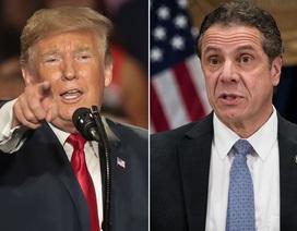 """New York phản pháo ông Trump về cáo buộc """"tuồn"""" thiết bị y tế ra ngoài"""