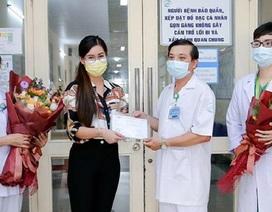 Nữ bệnh nhân nhiễm Covid-19 thuê chuyên cơ riêng về nước đã xuất viện