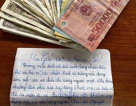Học sinh lớp 5 tặng 144.000 đồng chống dịch cùng lá thư gửi các bác sĩ