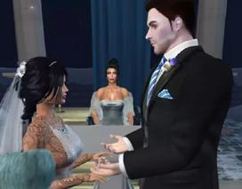 Ly hôn với chồng ngoài đời để kết hôn với chồng trong game