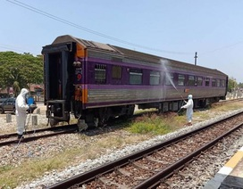 Người đàn ông mắc Covid-19 chết trên tàu hỏa ở Thái Lan