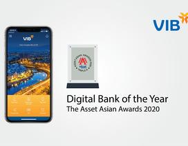 VIB lần thứ tư liên tiếp nhận giải thưởng về Ngân hàng số từ The Asset