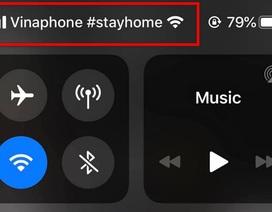"""Vinaphone gửi thông điệp """"Stay Home"""" tới người dùng Việt Nam"""