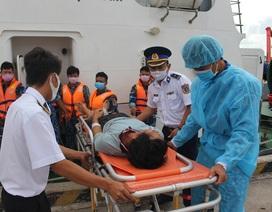 Ngạt khí trên tàu cá, 1 người chết, 5 nhập viện