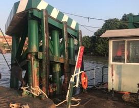Tạm ngưng phục vụ xe trên 8 tấn qua phà Cát Lái vì sự cố hàng hải