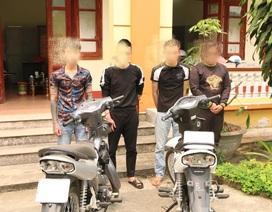 Triệu tập 4 thanh niên quay clip bốc đầu xe để tung lên mạng