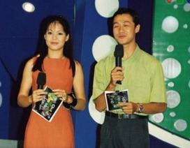 Diễm Quỳnh khoe ảnh thời trẻ bên MC Anh Tuấn khiến nhiều người xao xuyến