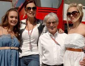 90 tuổi, tỷ phú F1 Bernie Ecclestone lại sắp làm cha