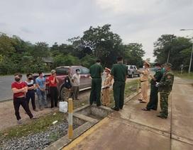 Truy đuổi 6 người nhập cảnh trái phép, định trốn cách ly