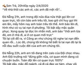 """Hai công an Đà Nẵng hy sinh: Nhật ký """"Sơn Trà, một đêm trắng"""""""