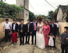 """Tổ chức đám cưới ngay sau """"lệnh"""" cách ly xã hội"""