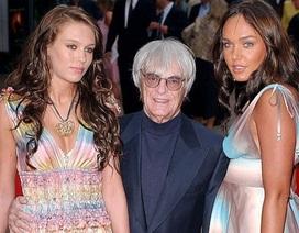 Con gái tỷ phú F1 mừng vui khi bố tiếp tục lên chức cha ở tuổi 90