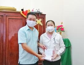 Nữ sinh lớp 7 lấy tiền nuôi heo đất ủng hộ phòng, chống dịch Covid-19