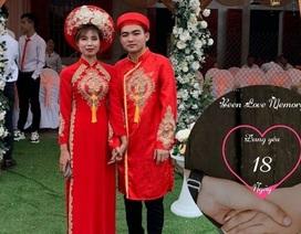 Cặp đôi Phú Thọ kết hôn sau 18 ngày nói chuyện qua mạng