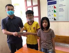 Học sinh lớp 7 trả lại 50 triệu đồng nhặt được bên đường