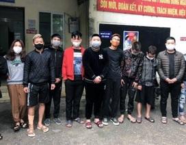 """Hà Nội: Hơn chục nam nữ thanh niên tụ tập """"chơi"""" ma túy giữa dịch bệnh"""