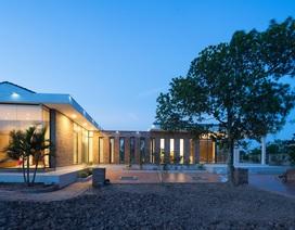 Chiêm ngưỡng nhà vườn từ gạch mộc, đẹp lạ giữa làng quê ở Thái Bình