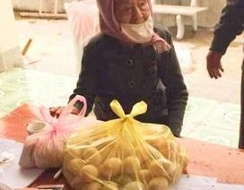 50 quả trứng vịt, 1kg gạo và tấm lòng của cụ bà 98 tuổi gửi đến khu cách ly