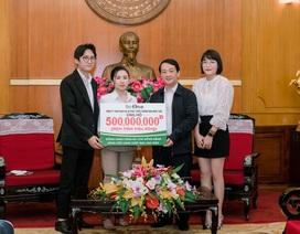 Công ty TNHH DV và PTTM Nhật Linh - ủng hộ quỹ phòng chống Covid-19 số tiền 500 triệu đồng