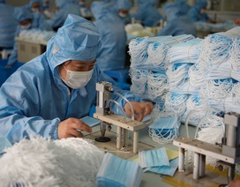 Trung Quốc xuất khẩu gần 4 tỷ khẩu trang trong đại dịch Covid-19