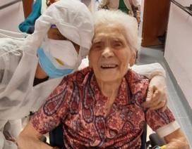 Cụ bà 104 tuổi chiến thắng virus corona