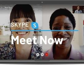 Skype ra mắt tính năng họp online như Zoom