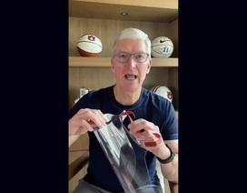 Apple tự thiết kế và trao tặng tấm chắn ngăn giọt bắn cho nhân viên y tế