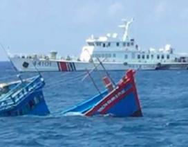 Hội Nghề cá Việt Nam phản đối Trung Quốc đâm chìm tàu cá Việt Nam